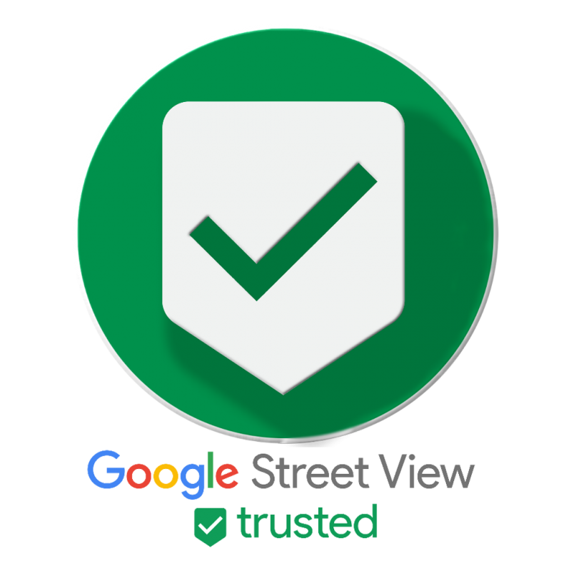 badge google street view certifié